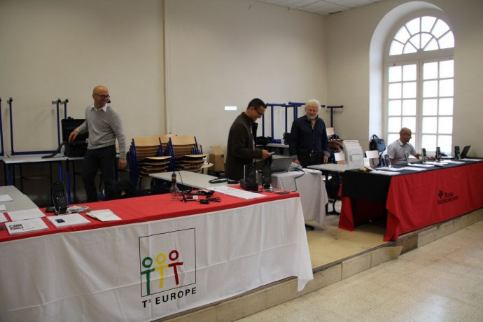 Le stand Texas Instruments